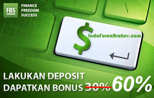 Bonus Deposit Eksklusif 60% dari FBS