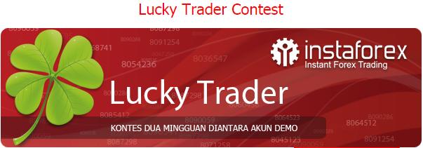 Kontes demo Lucky Trader Instaforex