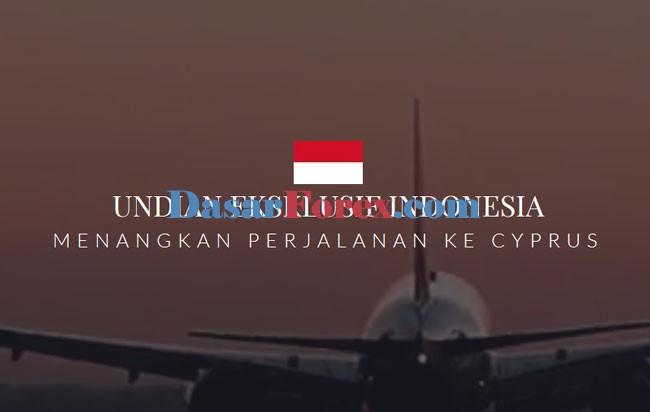 Undian Eksklusif Indonesia, Menangkan Perjalanan Ke Cyprus