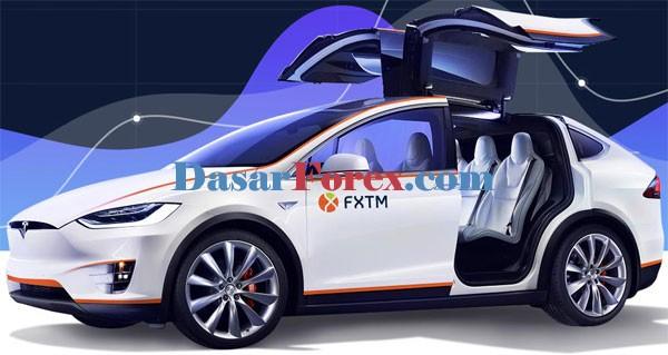 Kontes mobil Tesla FXTM
