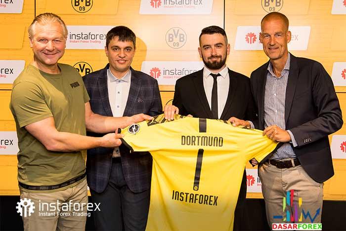 Kerjasama Instaforex dan Borussia Dortmund