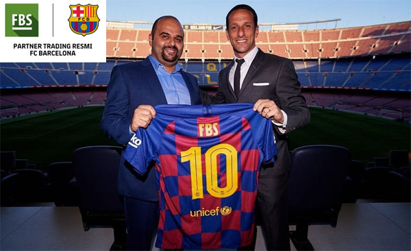 Kerjasama FBS dan FC Barcelona