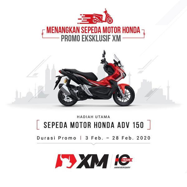 Promo Eksklusif XM Forex Berhadiah Honda ADV 150