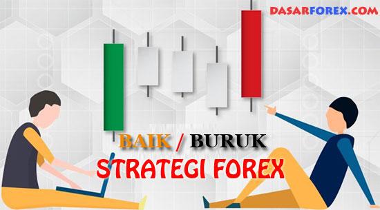 Membedakan baik buruk strategi forex