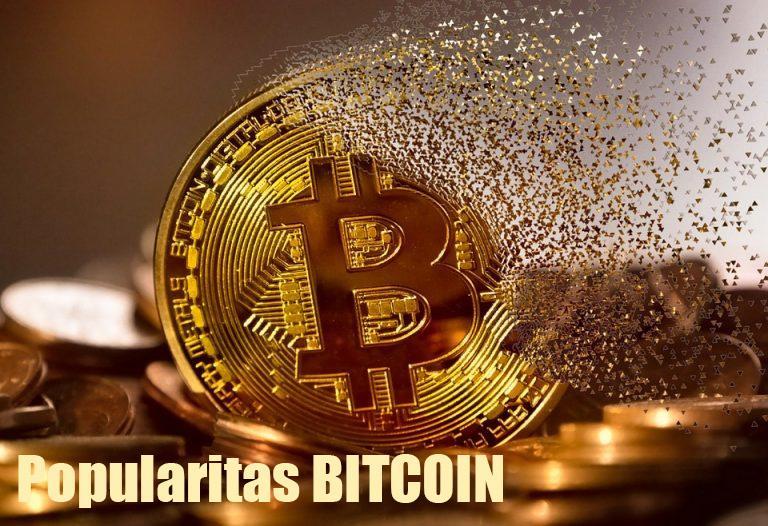 Popularitas Bitcoin 2021